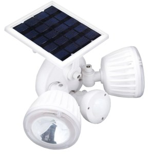 HGH309016-Ηλιακός Προβολέας LED 30W με Αισθητήρα Κίνησης GloboStar 12110