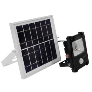 HGH309017-Ηλιακός Προβολέας LED 10W με Αισθητήρα Ψυχρό Λευκό GloboStar 12101 | Online 4U Shop