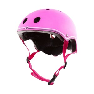 EXD757011 Κράνος τζούνιορ Globber 48-51cm Neon Pink (504-110)