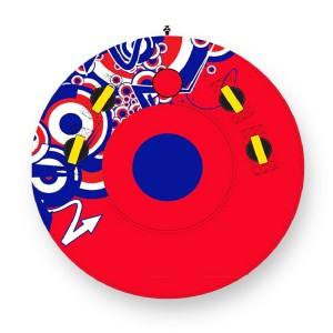 EXD751017-Φουσκωτό θαλάσσιο παιχνίδι Round Tube full cover 150cm AquaCenter | Online 4U Shop