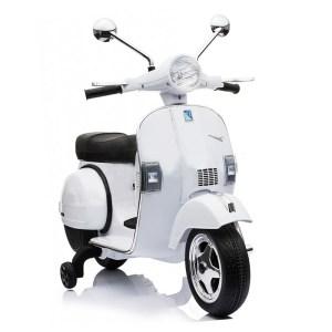 EXD759015-Ηλεκτροκίνητη VESPA PIAGGIO 12V ΛΕΥΚΗ 5245050 ScorpionWheels | Online 4U Shop
