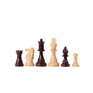 EDE098002-Πιόνια Σκάκι πλαστικά Didatto 442752 μπεζ-καφέ 8,5cm | Online 4U Shop