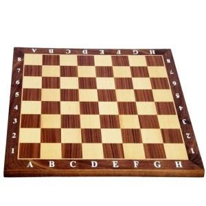EDE854037-Ξύλινη Σκακιέρα Καρυδιά 40X40cm SuperGifts 804545 | Online 4U Shop
