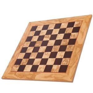 EDE854039-Σκακιέρα Χειροποίητη Ξύλο Ελιάς 50cm Μanopoulos | Online 4U Shop