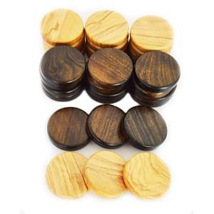 EDE098007-1-Πούλια τάβλι από ξύλο Ελιάς 3,6cm Manopoulos PE1 | Online 4U Shop