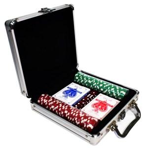 EDE905023-Βαλίτσα 100 μάρκες Πόκερ,ζάρια,τράπουλες SuperGifts700107   Online4U