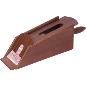 EDE908010-Ξύλινο σαμπό Wenge για 6 τράπουλες SuperGifts 60407 | Online 4U Shop
