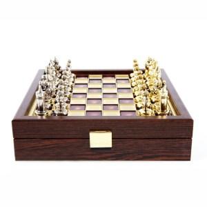 EDE854046-Χειροποίητο σκάκι Βυζαντινή Αυτοκρατορία Manopoulos SK1 | Online 4U Shop