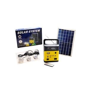 Ηλιακό Φωτιστικό 3 Λάμπες, ραδιόφωνο, HM83020 | Online 4U Shop