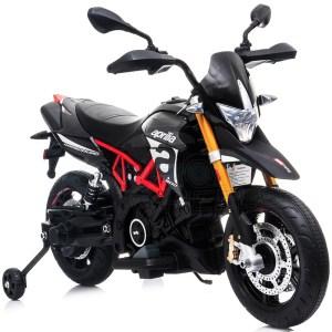 Ηλεκτροκίνητη Aprilia Dorsoduro 900 Μαύρη 12V SkorpionWheels 5245015