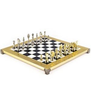 EDE854058-Μεταλλικό σκάκι Staunton 36x36cm blackS34 Manopoulos | Online4uShop