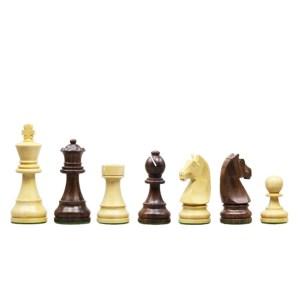 Ξύλινα πιόνια σκάκι με βαρίδι 7,5cm SuperGifts 508875 | Online 4U Shop