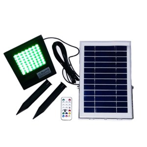 Ηλιακός Προβολέας 56 Led RGB ΟΕΜ ΗΜ21556 | Online 4U Shop