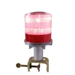 HGH303013-Αδιάβροχος ηλιακός φανός κόκκινος σταθερός 4Led HM10000
