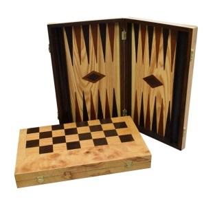 EDE900083-Βαλίτσα τάβλι-σκάκι ελιάς 48X30 SuperGifts 900500 | Online 4U Shop