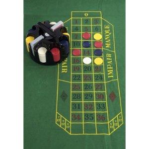 EDE905032-Περιστρεφόμενο Poker Game set με μάρκες Supergifts 700119 | Online4u