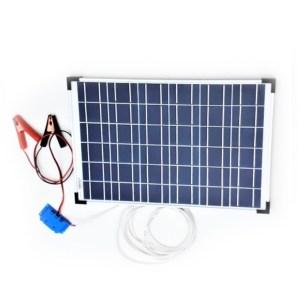 HGH303020-Ηλιακός Φορτιστής 30W-12V SolarCooking 44031 | Online4u Shop
