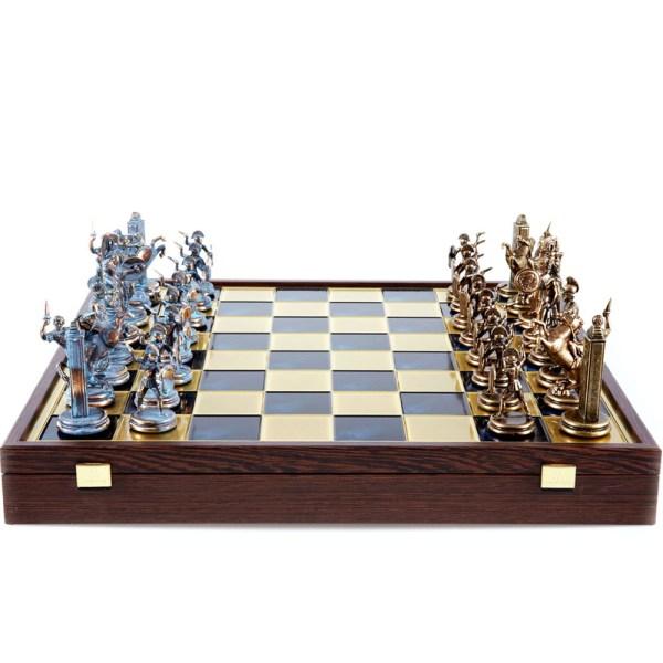 EDE854069-Σκάκι 48x48 Ελληνική μυθολογία Manopoulos SK19Blue  Online4u Shop