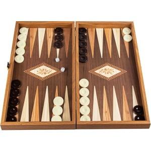 EDE900100-Σκάκι Τάβλι Laminate Κλαδί Ελιάς 48x52 Manopoulos TSX1E | Online4u