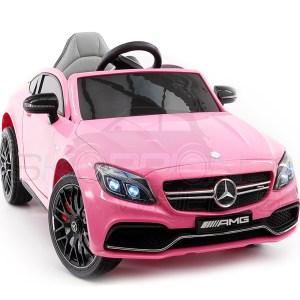 EXD750057-Mercedes Benz C63s 12V 5246063 Ροζ ScorpionWheels | Online4uShop