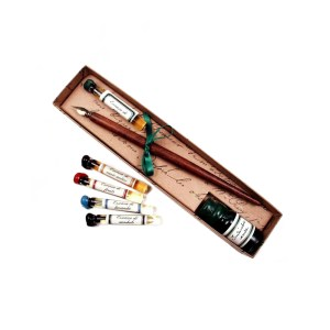 EDA751005 Πένα Κονδυλοφόρος με μελάνι και αξεσουάρ γραφής στυλ αντίκα Francesco Rubinato 22/Pipo