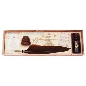 EDA751010 Πένα Κονδυλοφόρος με φτερό Da vinci Francesco Rubinato LEVI/09