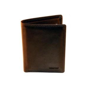 EDA757017-01 Πορτοφόλι δερμάτινο ανδρικό καφέ Marvel 49780006