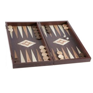 EDE900002-01 Χειροποίητο τάβλι - Απομίμηση από ξύλο wenge