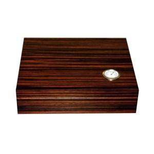 EDK951023 Υγραντήρας ξύλινος 15 πούρων με επένδυση έβενου Grand value VG126183AA