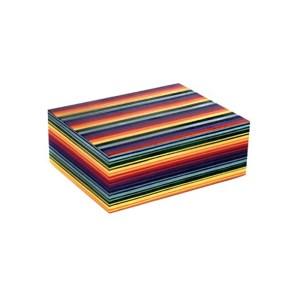 EDK951034-01 Υγραντήρας ξύλινος 70 πούρων Jemar Rainbow