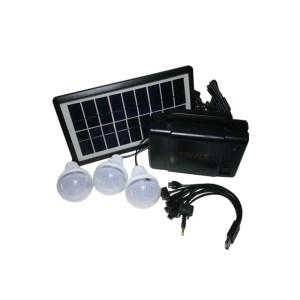 HAC850003-01 Αυτόνομο ενεργειακό σύστημα φόρτισης & φωτισμού με 3 Λάμπες LED GDLITE OEM