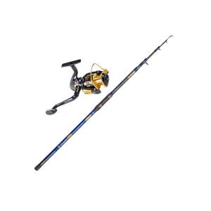 HAP459009-01 Σετ καλάμι ψαρέματος με μηχανάκι Picollo και Kuro