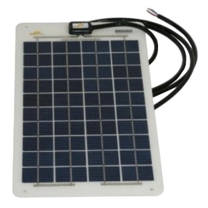 HGH307006-01 Εύκαμπτος Φωτοβολταϊκός Συλλέκτης Sunware 12W - 12V - 0,5A