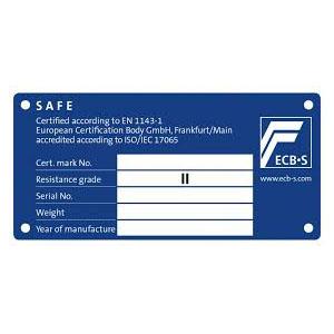 πιστοποιητικό ασφαλείας Grade II