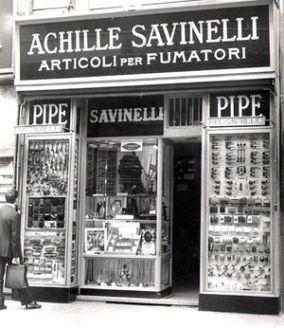 το πρώτο κατάστημα Savinelli   Online 4U