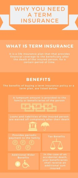 Why do you need a term insurance