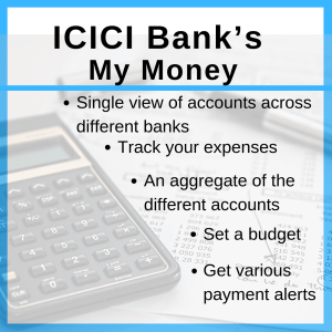 icici bank, my money, manage your finance