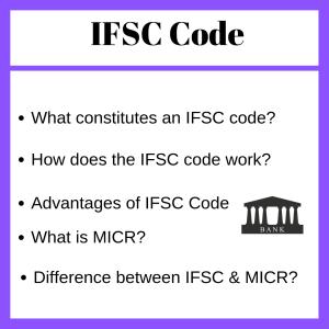 ifsc code, savings bank account,
