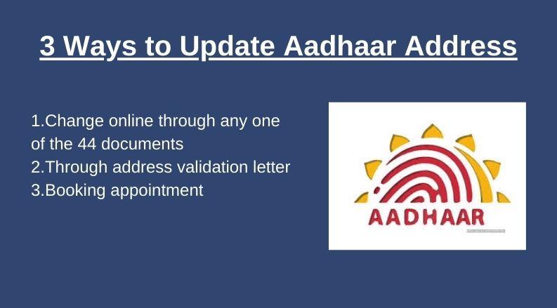 update aadhaar address