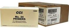 CCI Large Rifle 7.62mm NATO-Spec Military Primers #34 Box of 1000 (10 Trays of 100) - Ammo-Store
