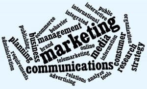 marketing word-cloud