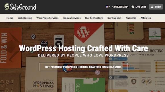 Click for WordPress Hosting