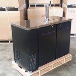 48-Single-Tap-Keg-Beer-Can-Bottle-Dispenser-Refrigerator-Stainless-Steel-Top-UDD-24-48-Kegerator-Fridge-0-0