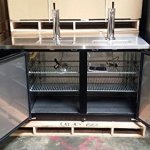 60-Dual-Tap-Keg-Beer-Can-Bottle-Dispenser-Refrigerator-Stainless-Steel-Top-UDD-24-60-Kegerator-Fridge-0-0