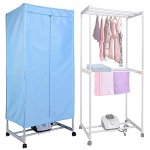 AMPERSAND-SHOPS-Portable-Foldable-Electric-Quiet-Clothes-Quick-Drying-Rack-with-Built-In-Timer-0