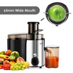 Aicok-Juicer-Juice-Extractor-High-Speed-for-Fruit-and-Vegetables-Dual-Speed-Setting-Centrifugal-Fruit-Machine-Powerful-400-Watt-with-Juice-Jug-and-Cleaning-Brush-Premium-Food-Grade-Stainless-Steel-0-0