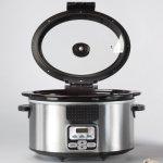 BELLA-6-Quart-Programmable-Locking-Lid-Slow-Cooker-Stainless-Steel-0-1