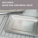 BLACKDECKER-TO3230SBD-6-Slice-Convection-Countertop-Toaster-Oven-Includes-Bake-Pan-Broil-Rack-Toasting-Rack-Stainless-Steel-Convection-Toaster-Oven-0-1