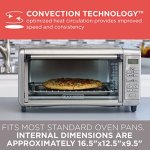 BLACKDECKER-TO3290XSD-8-Slice-Digital-Extra-Wide-Convection-Countertop-Toaster-Oven-Includes-Bake-Pan-Broil-Rack-Toasting-Rack-Stainless-Steel-Digital-Convection-Toaster-Oven-0-2