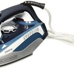 Black-Decker-X2150-2200-Watt-Auto-Shut-Off-Steam-Iron-220-Volts-Not-for-USA-European-cord-0-0